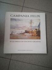 CAMPANIA FELIX ACQUERELLI DI GIACINTO GIGANTE 1984