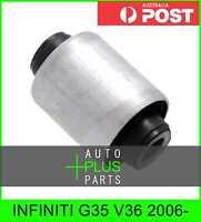 Fits INFINITI G35 V36 2006- - BUSHING, FRONT LOWER CONTROL ARM