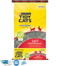 New listing New Tidy Cats Non Clumping Cat Litter, 24/7 Performance Multi Cat Litter, 30 lb.