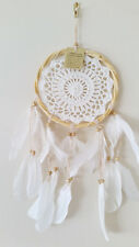 Dream Catcher Round with Feathers Wall Hanging 17cm from Bali