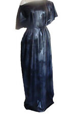 Rubber Dress Tee Tunic Latex Mix Black Roleplay XXL T Shirt Gown X Long Night