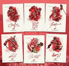 2014 Winter Classic Detroit Red Wings 6 card set Datsyuk, Tatar, Nyquist etc..