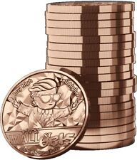 *IN STOCK* 2021 WallStreetBets 1oz Fine Copper BU Round - Blockchain Mint