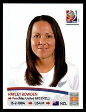 Panini football FIFA World Cup 2015 Women Sticker #70 Hayley Bowden New Zealand