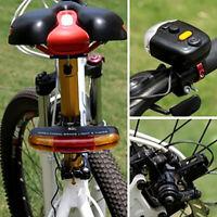 LED Fahrrad Bike Blinker Richtungs Bremslicht Lampe mit 8 Sound Horn Bike Lampe