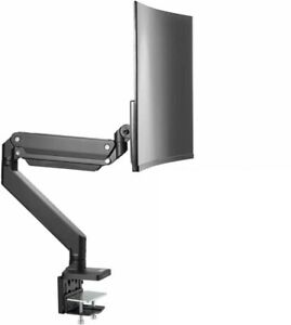 """AVLT Single Monitor Desk Stand - Mount Ultrawide Computer Monitor 33 Lbs and 43"""""""