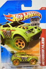 HOT WHEELS 2012 MITSUBISHI PAJERO THRILL RACERS - SWAMP RALLY '12 FACTORY SEALED