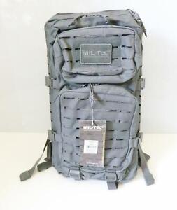 Mil-Tec 14002770 Military Rucksack US Assault Pack Laser Cut 36L urban grey ME4