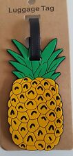 Pineapple Holiday Luggage Tag