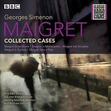 Maigret: Collected Cases: Classic Radio Crime by Simenon, Georges | Audio CD Boo