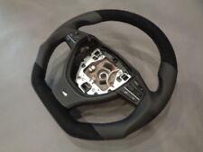Volante de cuero bmw m-Power f10 f11 f12 f13 aplanada volante Steering Wheel alcan