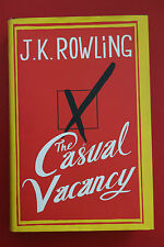 THE CASUAL VACANCY by J. K. Rowling - Harry Potter (HC/DJ, 2012)