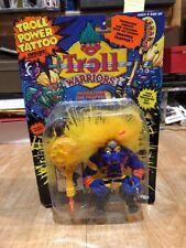 Troll Warriors Thorbjoro The Trapper Tyco Troll Power Tattoo Yellow Blue New