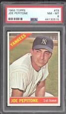 1966 Topps 79 Joe Pepitone - PSA NM-MT 8 - New York Yankees