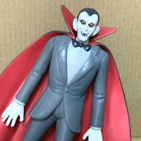 Super Rare Scooby-Doo Haunted Dracula Vampire Monster Figure Movies toy