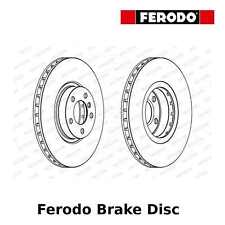 Ferodo Front Brake Disc (Pair) - 348mm, Vented - DDF1713 - OE Quality