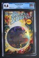 SILVER SURFER V3 #100 Anniversary 1995 HOLOGRAM Wraparound MEPHISTO-bc/s CGC 9.8