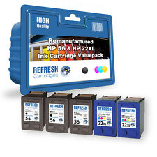 Refresh Cartuchos 5 Pack Of 338&343 Compatible con hp Impresoras