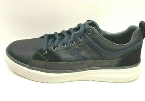 Skechers Size 11.5 Black & Navy Sneakers  New Mens Shoes