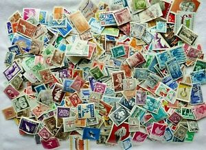 ROMANIA  large bag POSTAGE Stamps early & modern issues, used / mint, off paper