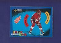 Steve Yzerman HOF 1997-98 Upper Deck Collectors Choice Stick-Ums #S29 (MINT)