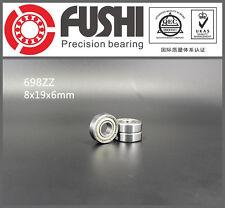698ZZ Bearing 8x19x6 mm ABEC-5 (10PCS) Miniature 698 Z ZZ Ball Bearings R-1980ZZ