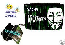 portefeuille anonymus personnalisable avec prénom réf 44
