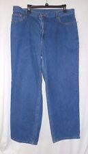 L L Bean Size 18 regular Womens Double L Jeans 100% cotton