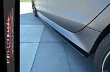 CUP Seitenschweller Ansätze CARBON für Audi RS7 Facelift A7 Side Skirts Leisten