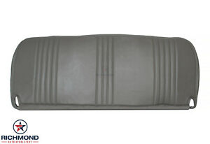 1996 1997 Chevy Silverado Work-Truck Base W/T-Bottom Bench Seat Vinyl Cover Gray
