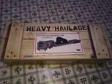 Corgi Heavy Haulage Volvo F88 low loader Hoveringham Gravels