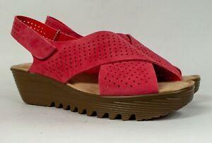 Skechers Petite Parallel Plot Slingback Sandals Coral or Dark Natural MSRP $57