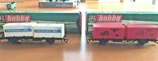 2 Wagen mit Container, DR Berliner Bahn TT, 4521,4523  OVP