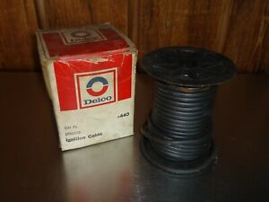 New NOS GM Delco Packard 440 Spark Plug Ignition Wire Partial Roll 1851208