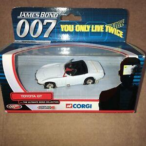 "Vintage Corgi James Bond ""You Only Live Twice""  TOYOTA 2000 GT TY05202"