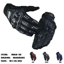 New MADBIKE Racing Gloves Motorbike Motocross Fiber Bike Pro-Biker Motorcycle