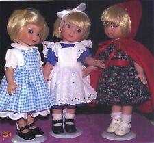 "Dress Pattern fits 10"" Dolls. Linda McCall, Ann Estelle, Dianna Effner"