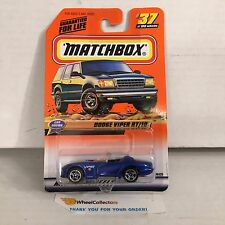 Dodge Viper RT/10 #37 * BLUE * Matchbox * B8
