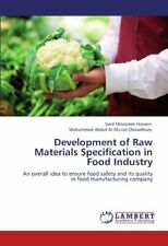 Development of Raw Materials Specification in Food Industry, Hossain, Moazzem,,