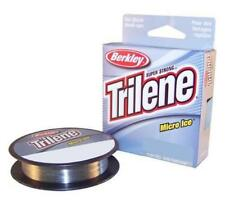 Berkley Trilene Micro Ice Fishing Line 110 Yards Clear 4 6 or 8 Lb Test Choice