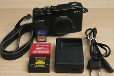 Fujifilm FinePix X Series X-E1 16.3MP Digitalkamera - Schwarz