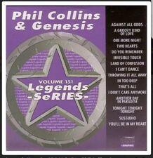 KARAOKE CDG Legends Series VOL 151 Phil Collins/Genesis 16 tracce Top