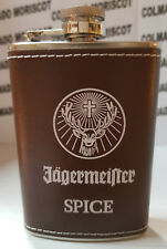 JAGERMEISTER SPICE STAINLESS STEEL HIP FLASK 4oz LIMITED EDITION