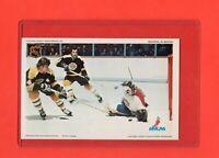 1971-72 Canadiens Ken Dryden/Bobby Orr  Pro Star NHLPA Postcard Exmt-Nrmnt