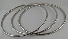 Magnetic Lock Linking Ring 3 Rings Set,31cm Dia,stainless steel,Magic tricks