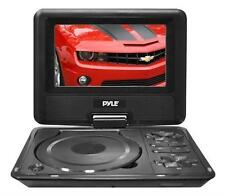 New PDH7 7'' Portable TFT LCD Monitor w/ Built-In DVD Player MP3/MP4/USB SD Slot