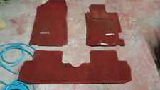 2001 Honda Integra Type R DC5 Mats Interior Carpet JDM Floors  Red