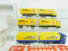 BO732-0, 5 #3x wiking H0 / 1:87 Truck MB: 573 Möbelspedition +598 Etc. , VG Box