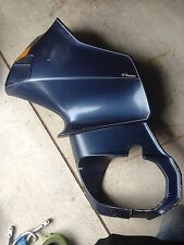BMW R100RT R100 RT Airhead Left Side Fairing Complete upper, Lower. Blue