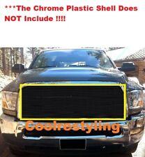 Fit 2010 11 12 Dodge Ram 2500 3500 BLACK Billet Grille Insert -Requires Cutting